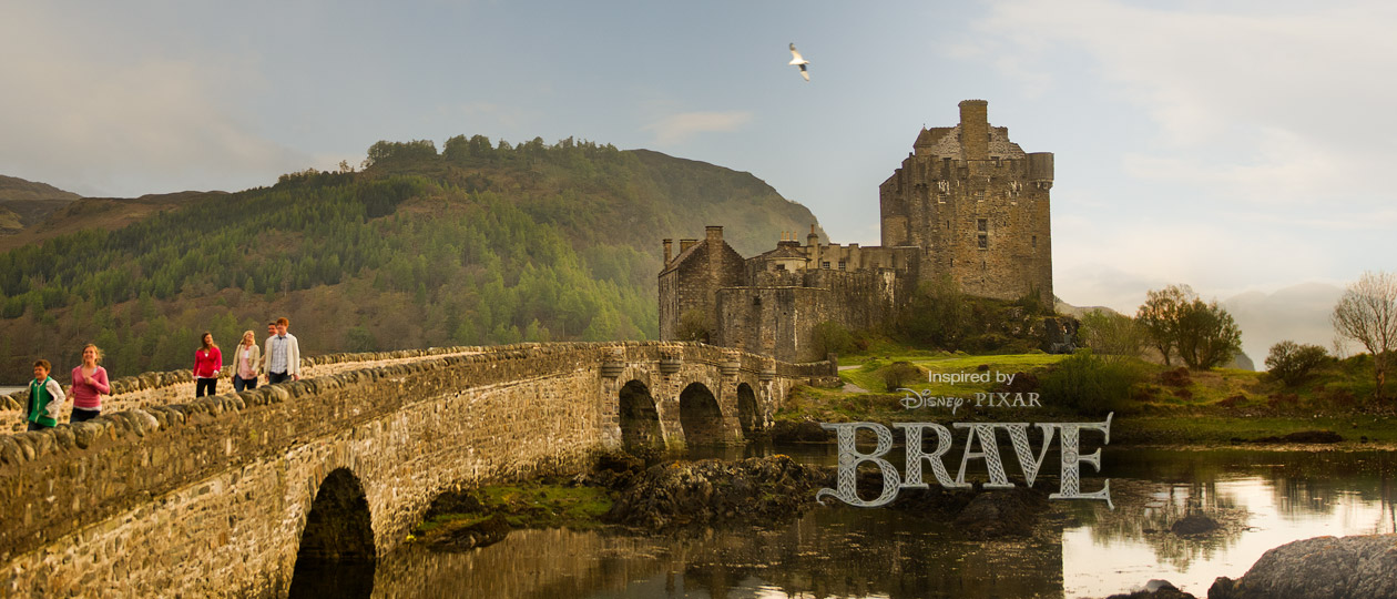 See Disney Pixar's <b><i>Brave</i></b>, then journey to Scotland to experience the land that inspired the film