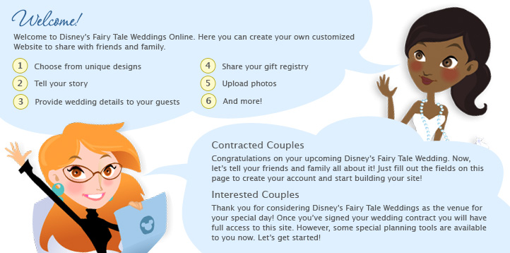 Wedding Websites