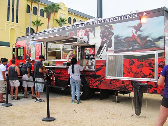 ESPN Disney Food Truck