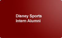 Disney Sports Intern Alumni