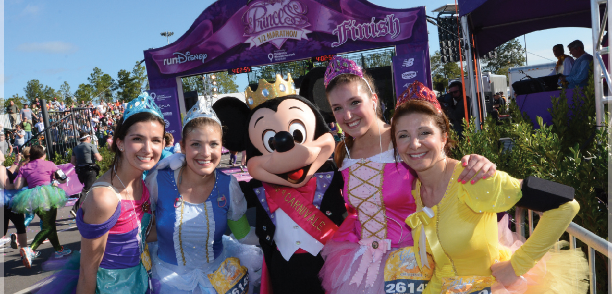 Disney Princess Half Marathon Weekend presented by Children's Miracle Network Hospitals