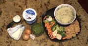 TARA GIDUS' HEALTHY SPINACH ARTICHOKE DIP
