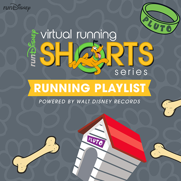 runDisney Virtual Running Shorts playlist on Spotify