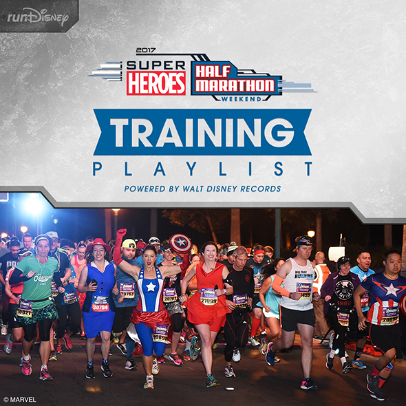 Super Heroes Half Marathon Weekend playlist on Spotify