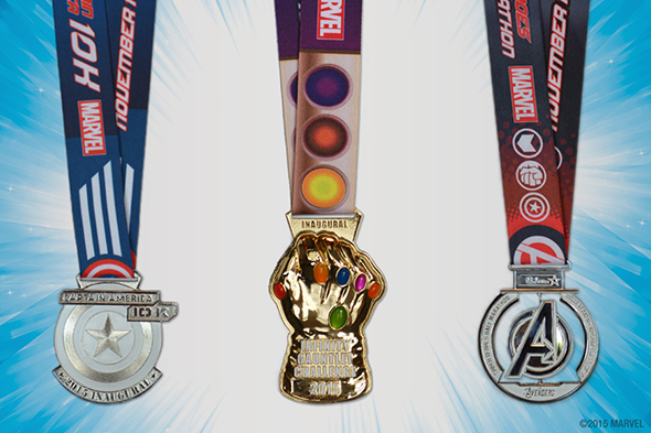 Infinity Gauntlet Challenge Medal Reveal
