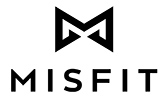 An M shaped logo with the word Misfit under it