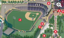 Mapa de ESPN Wide World of Sports Complex